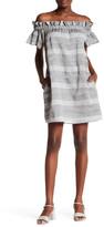 Corey Lynn Calter Dion Off-the-Shoulder Shift Dress