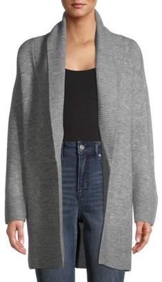 Time and Tru Women's Shawl Collar Cardigan Sweater