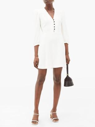 Bella Freud Sundown Crepe Dress - Womens - Ivory