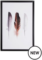 Graham & Brown Feather Trio Framed Wall Art