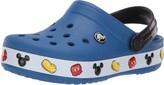 Crocs Unisex Crocband Mickey Clog blue jean 2 M US Little Kid