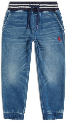 Ralph Lauren Kids Denim-Effect Sweatpants (2-4 Years)