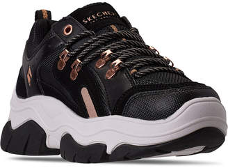 Skechers Women Street Amp'd City Chic Casual Athletic Sneakers from Finish Line