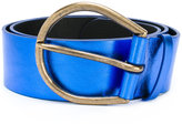 Maison Margiela large knotted belt - women - Calf Leather - M
