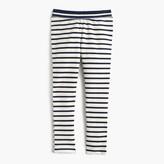J.Crew Girls' cozy everyday leggings in combo stripe