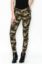 Tractr Blu Camouflage Skinny Jeans