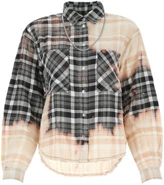 Diesel Check Flannel Bleached Shirt