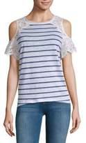 Generation Love Cold-Shoulder Lace Top