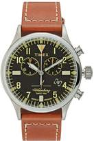 Timex THE WATERBURY Chronograph watch black/rust