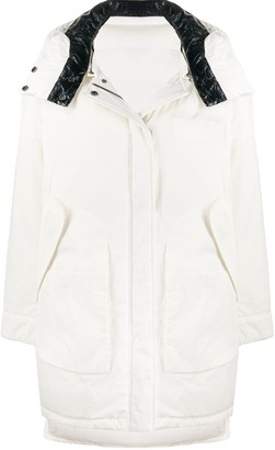 Army by Yves Salomon Hooded Down Coat