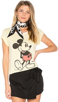 Junk Food Clothing Mickey Mouse Tee in Yellow
