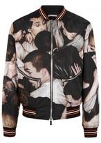 Christian Dior Printed Shell Bomber Jacket