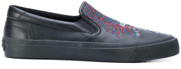 Kenzo Geo Tiger slip-on sneakers