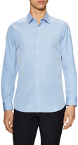 Valentino Solid Spread Collar Dress Shirt
