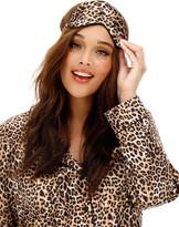 Figleaves Curve Leopard Pyjama Set with Eyemask