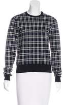 A.L.C. Plaid Crewneck Sweater