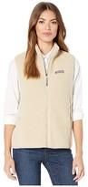 Vineyard Vines Sherpa Harbor Vest (Camel) Women's Vest
