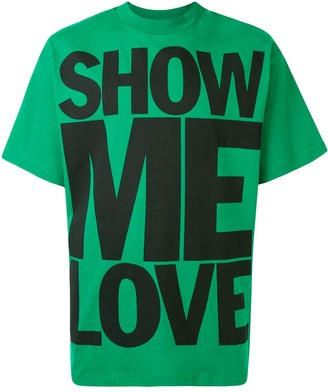 Honey Fucking Dijon Show Me Love crewneck T-shirt