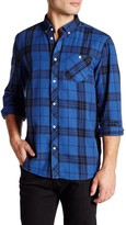 Wesc Ole Plaid Long Sleeve Relaxed Fit Shirt