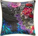Roberto Cavalli Nimphea Silk Cushion