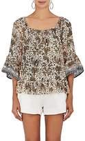 Natalie Martin Women's Mesa Silk Off-The-Shoulder Shirt