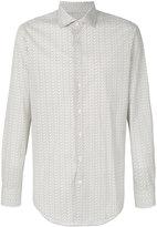 Etro fine paisley print shirt