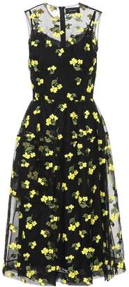 Simone Rocha Cotton-blend sleeveless dress