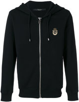 Billionaire logo print hoodie - men - Cotton - M