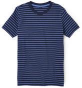 Cherokee Mix & Match Short Sleeve Tee-Black Stripe
