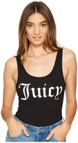 Juicy Couture Juicy Graphic Scoop Neck Bodysuit Women's Jumpsuit & Rompers One Piece