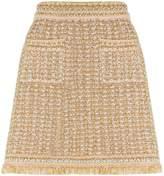 M Missoni Metallic Bouclé Skirt, Grey, IT 42