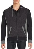 Calvin Klein Cotton-Blend Hooded Jacket