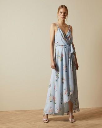 Ted Baker Sleeveless Elegant Wrap Dress