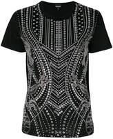 Just Cavalli studded short-sleeved T-shirt