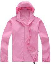 Alafen Unisex Lightweight Waterproof Sun Protection Jacket Skin Windbreaker XX-Large