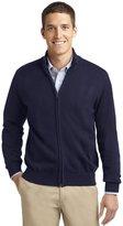 Port Authority Men's Value Full Zip Mock Neck Sweater 3XL