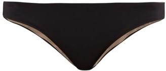 Skin The Selby Reversible Bikini Briefs - Black Brown