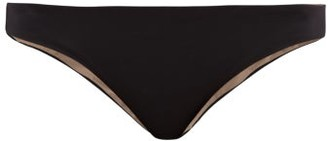 Skin - The Selby Reversible Bikini Briefs - Womens - Black Brown