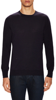 Christian Dior Wool Solid Crewneck Sweater