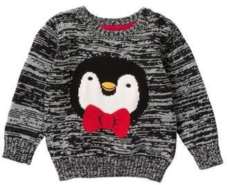 Joe Fresh Penguin Pullover Crew Sweater (Baby Boys)