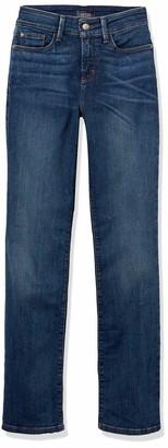 NYDJ Women's Marilyn Straight Jeans in Premium Lightweight Denim in Wash
