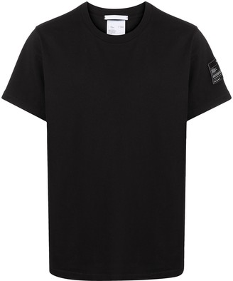 Helmut Lang logo patch cotton T-shirt