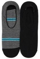 Lorenzo Uomo No-Show Socks (Assorted 2-Pack) (Men)