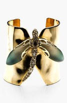 Alexis Bittar 'Lucite® - Neo Bohemian' Dragonfly Cuff Bracelet