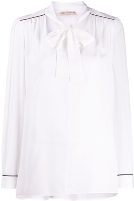 Emilio Pucci Pussy Bow Blouse