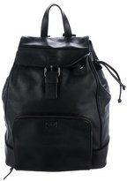 Tous Leather Drawstring Backpack