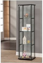 Coaster Home Furnishings 950171 Curio Cabinet, Black