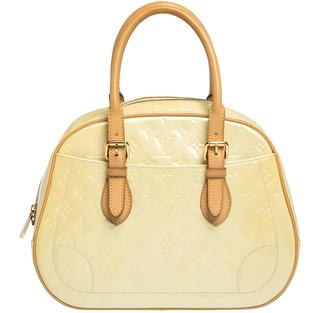 Louis Vuitton Cream Monogram Vernis Summit Drive Bag