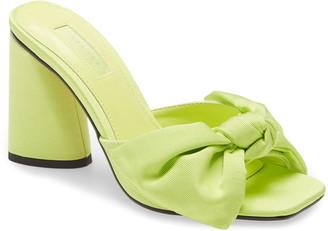 Topshop Saucy Bow Slide Sandal