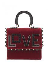Les Petits Joueurs Velvet And Leather Bag